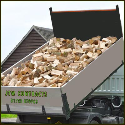 Loose Wagon Loads Of Logs Delivered In Scarborough & District